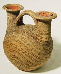 càntir de dos brocs, segle III ac,  sud d' Itàlia